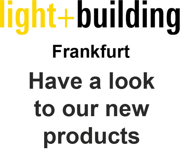 21. LIGHT AND BUILDING 2018 - FRANKFURT - 18-03 / 23-03-2018